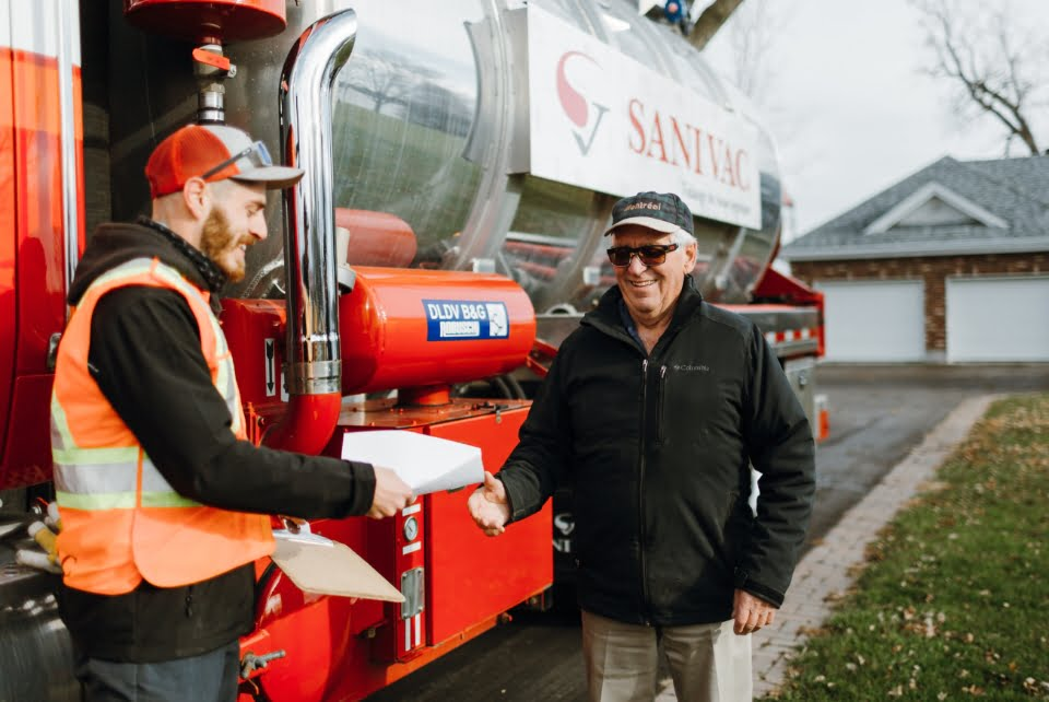 Septic Pumping Services - Sanivac